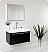 Fresca Vista Black Modern Bathroom Vanity