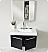 Fresca Vista Black Modern Bathroom Cabinet