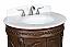 Adelina 32 inch Antique Bathroom Vanity Cream Marble Countertop