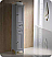 Oxford Grey Tall Bathroom Linen Cabinet