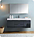"Valencia 60"" Wall Hung Modern Bathroom Vanity with Medicine Cabinet, Faucet and Color Option"