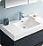 """Valencia 36"""" Free Standing Modern Bathroom Vanity with Medicine Cabinet, Faucets and Color Options"""