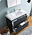 """Valencia 40"""" Free Standing Modern Bathroom Vanity with Medicine Cabinet, Faucets and Color Options"""