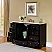 """55"""" Single Sink Cabinet - Cream Marfil Marble Top, Under Mount, White Ceramic Sink (3 holes)"""
