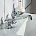 Elizabeth 24-Inch Single Sink Carrara White Marble Vanity In Pure White With F2-0009-01-BX Lavatory Faucet