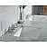Elizabeth 60-Inch Double Sink Carrara White Marble Vanity In Pure White With F2-0009-01-BX Lavatory Faucets