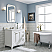 36 Inch Wide Pure White Single Sink Quartz Carrara Bathroom Vanity From The Queen Collection
