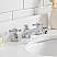 36 Inch Wide Pure White Single Sink Quartz Carrara Bathroom Vanity With Matching F2-0009-05-BX Faucet From The Queen Collection