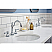 72 Inch Wide Cashmere Grey Double Sink Quartz Carrara Bathroom Vanity With Matching F2-0012-01-TL Faucets From The Queen Collection