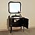 Bellaterra Home 203037-Black Vanity