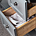 """Fresca Manchester 36"""" Gray Traditional Bathroom Vanity with Mirror and Color Options"""