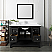 "Fresca Manchester 48"" Black Traditional Bathroom Vanity w/ Mirror"