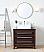 "Adelina 36"" Stoughton Vessel Sink Bathroom Vanity with Black Galaxy Granite Top"