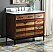 "Adelina 42"" Tenant Brand Urban Modern Eclectic Selva Sink Bathroom Vanity with Metal Base"