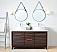 "Adelina 63"" Tennant Brand Arturas Double Sinks Sink Bathroom Vanity in Dark Brown with White Quartz Counter Top"