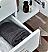 "Fresca Lucera 42"" White Wall Hung Undermount Sink Modern Bathroom Vanity with Medicine Cabinet"