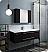 "Fresca Lucera 48"" Espresso Wall Hung Undermount Sink Modern Bathroom Vanity with Medicine Cabinet"