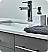 "Fresca Lucera 48"" Gray Wall Hung Double Undermount Sink Modern Bathroom Vanity with Medicine Cabinet"