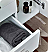 "Fresca Lucera 60"" White Wall Hung Single Vessel Sink Modern Bathroom Vanity with Medicine Cabinet"