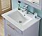 "30"" Single Sink Bathroom Vanity in Grey Finish with Ceramic Top - No Faucet"
