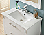 "30"" Single Sink Bathroom Vanity in White Finish with Ceramic Top - No Faucet"