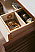 "James Martin Linear Collection 36"" Single Vanity, Mid Century Walnut Finish"