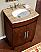 Silkroad Exclusive 26 inch HYP-0220-T-UWC Bathroom Vanity