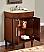Silkroad Exclusive 26 inch HYP-0220-T-UWC Bathroom Vanities