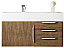 "James Martin Mercer Island Collection 36"" Single Vanity, Latte Oak Finish"
