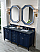 """James Martin Brittany Collection 72"""" Double Vanity, Victory Blue"""