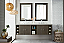 """James Martin Sonoma Collection 72"""" Double Vanity, Silver Oak with Top Options"""