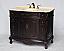"40"" Adelina Antique Style Single Sink Bathroom Vanity in Espresso Finish"