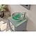 """18"""" Single Sink Bathroom Vanity Set with Polished Chrome Plumbing"""