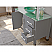 "48"" Single Sink Bathroom Vanity Set in Gray Finish with Polished Chrome Plumbing"