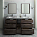 "Fresca Formosa 72"" Floor Standing Double Sink Modern Bathroom Vanity with Mirrors"