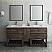 "Fresca Formosa 72"" Floor Standing Double Sink Modern Bathroom Vanity with Open Bottom & Mirrors"