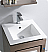 Fresca Allier Bath Vanity Grey Oak