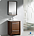 "Fresca Allier 24"" Bathroom Vanity Wenge"