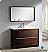 "Fresca Allier 47"" Bathroom Vanity Wenge"