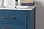 "24"" Tennant Brand Aruzza Small Slim Narrow Teal Blue Bathroom Vanity"