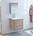 "Fresca Catania 30"" Rustic Natural Wood Wall Hung Modern Bathroom Vanity with Medicine Cabinet and Faucet Options"