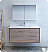"""Fresca Catania 48"""" Rustic Natural Wood Wall Hung Modern Bathroom Vanity with Medicine Cabinet and Faucet Options"""