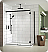Fleurco Nova Apollo 2-Sided In-Line 60 Sliding Door and Fixed Panel with Return Panel (Closes against wall)