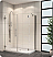Fleurco Platinum Kara Shower Door and Panel with Return Panel and Support Bar System