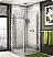 Fleurco Banyo Sevilla Semi Frameless Square Corner Entry Pivot Door