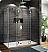 Fleurco Evolution 6' Walk in Shower Enclosure with 2 Side Glass Panels