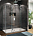 Fleurco Evolution 6' Walk in Shower Enclosure with 1 Side Glass Panel
