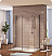 Fleurco Evolution 5' Walk in Shower Shield with Round Top