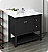 """Fresca Manchester 40"""" Traditional Bathroom Cabinet with Top & Sink - Color Options"""