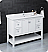 """Fresca Manchester 48"""" Traditional Bathroom Cabinet with Top & Sink - Color Options"""